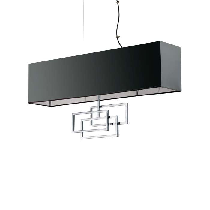 Люстра Ideal Lux LUXURY SP6 CROMO 219721 - Оригинал! 100% - Купить в магазине SVETLAKOFF.ru
