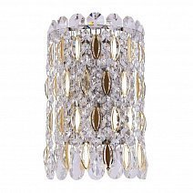 Светильники Crystal lux LIRICA AP2 CHROME/GOLD-TRANSPARENT фабрики Crystal lux